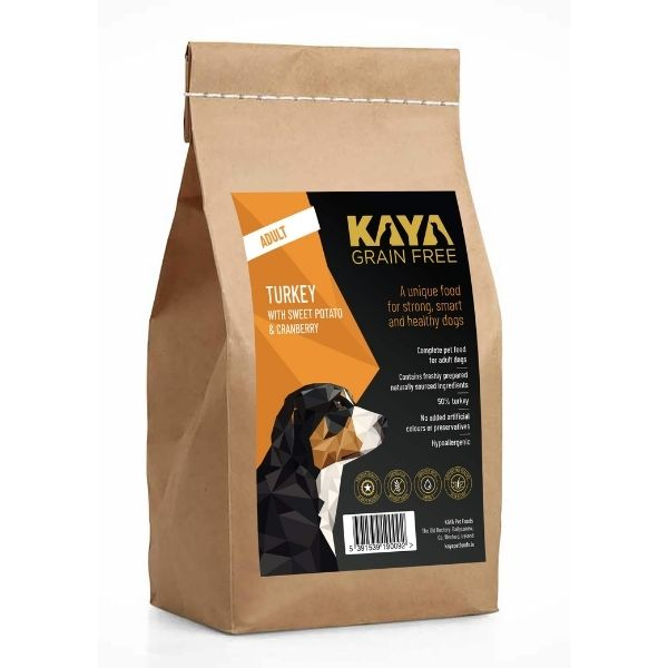 Kaya Grain Free Dog Food Turkey The Pet Parlour Ireland