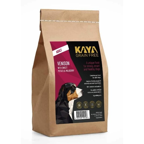 Kaya Grain Free Dog Food Venison The Pet Parlour Ireland