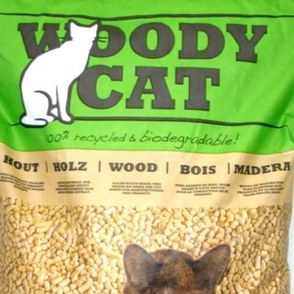 Woody Cat Cat Litter From The Pet Parlour Dublin