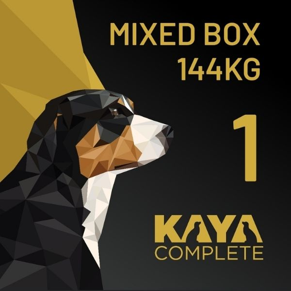 Kaya Complete raw dog food Bulk box 144kg Box 1