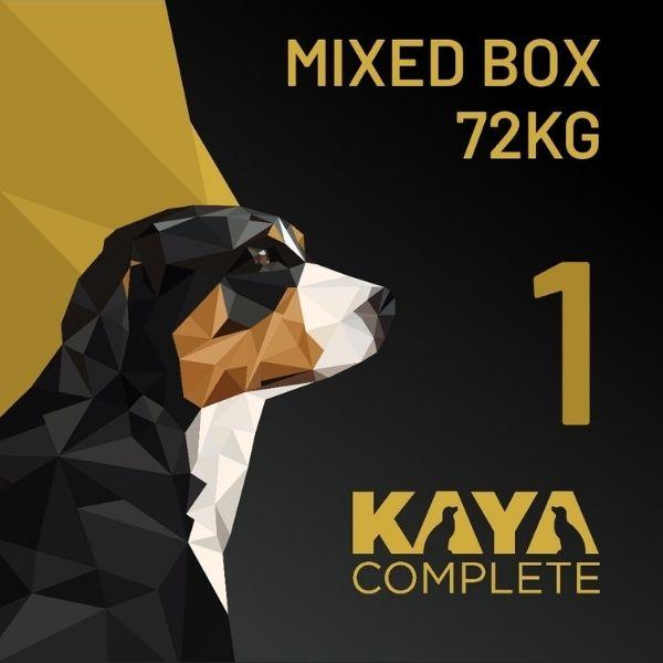 Kaya Complete Raw Dog Food 72kg box The Pet Parlour Dublin