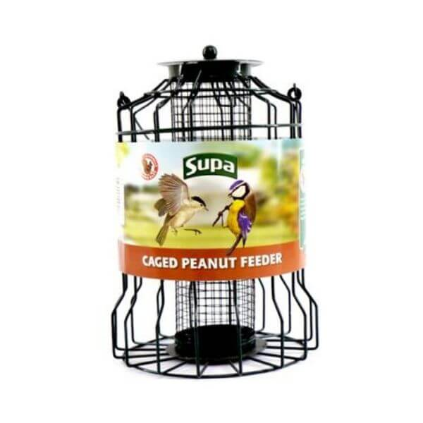 caged peanut feeder The Pet Parlour Pet Food & Accessory Store