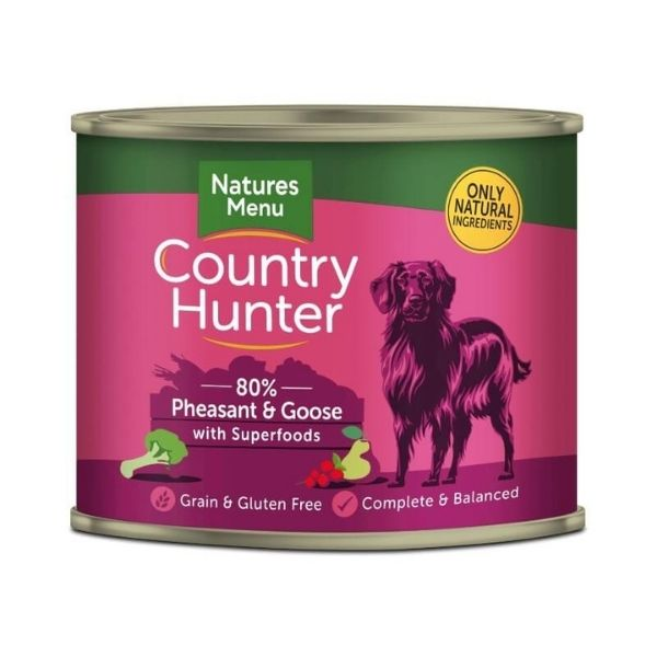 country hunter pheasant and goose dog food