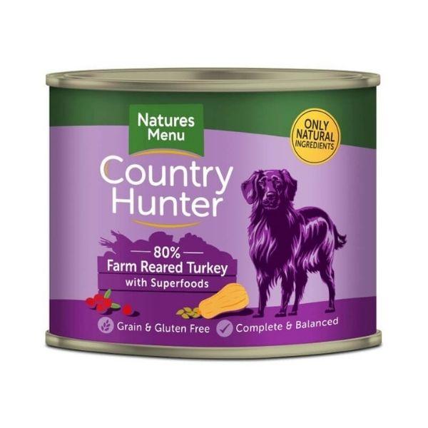 country hunter turkey dog food