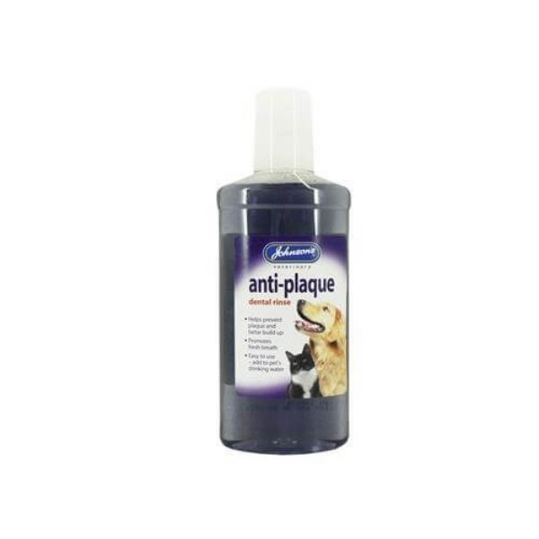 anti plaque dental rinse for cats and dogs