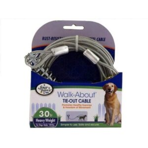 tie out cable for heavyweight dogs