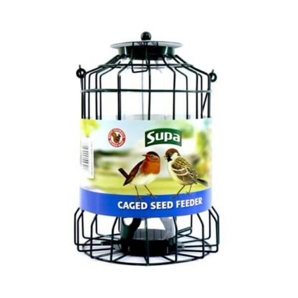 caged seed feeder The Pet Parlour Pet Food & Accessory Store