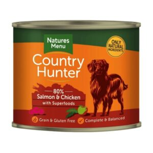 Country Hunter Salmon & Chicken with Superfoods for Dogs